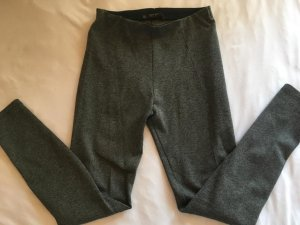 Zara Basic Leggings grigio scuro-grigio