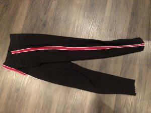 Zara Legging noir-rouge