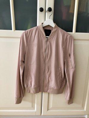 Zara Trafaluc Bomber Jacket pink-dusky pink