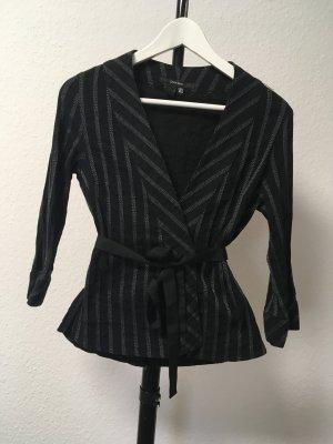 Zara Basic Wraparound Jacket multicolored