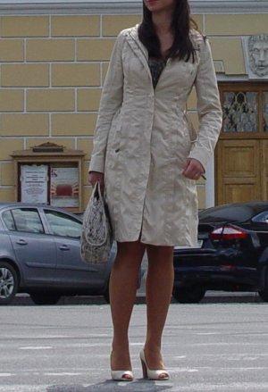 Zara leichter Mantel (Frühjahr/Sommer), tailliert, mit Gürtel & Kapuze, Gr.36