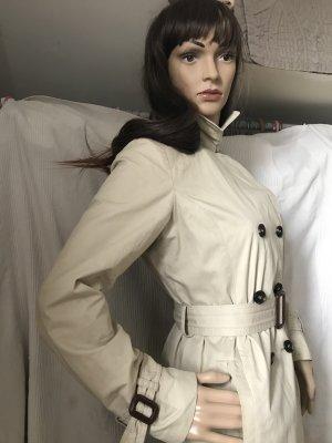 Zara Manteau court beige clair