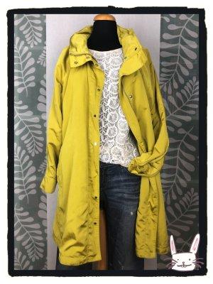 Zara Woman Overgangsjas neongeel Polyester
