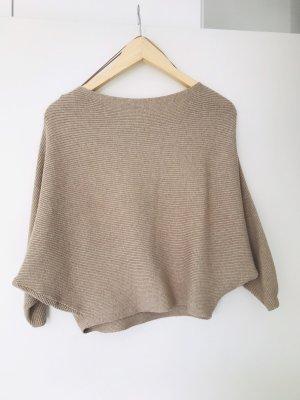 Zara leichter Pullover in beige Gr. S