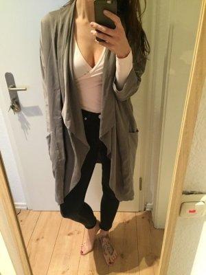 Zara leichter Übergangs Mantel Blouson Jacke taupe neu!