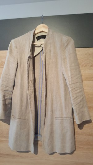 Zara Blazer long gris brun