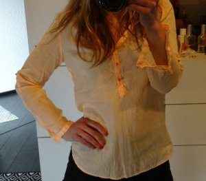 Zara Blouse en lin multicolore