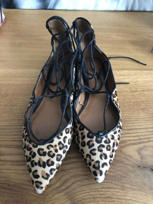 Zara Leo Flats lace-up Größe 39