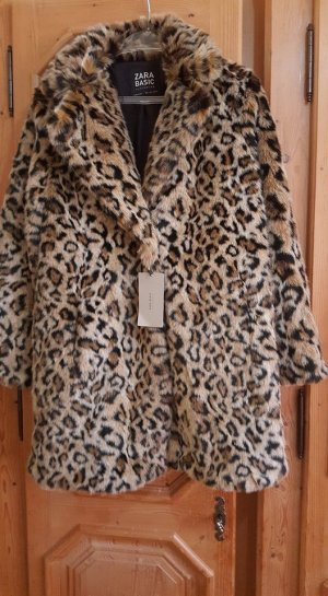 Zara Manteau d'hiver bronze-noir