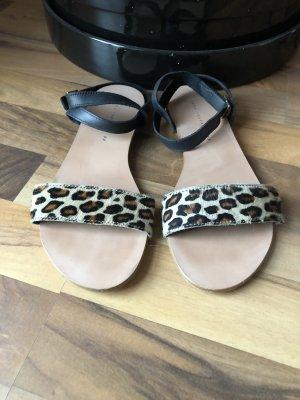 Zara Trafaluc Roman Sandals multicolored