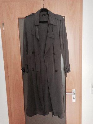 ZARA Lightweight Trenchcoat in Grau / Grey