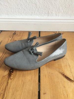 Zara Chaussures basses argenté