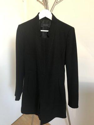 Zara Basic Long Blazer black