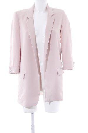 Zara Long-Blazer altrosa Business-Look