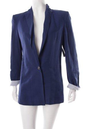 Zara Long-Blazer dunkelblau