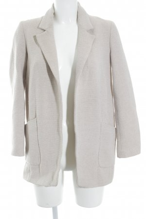 Zara Long-Blazer hellbeige Casual-Look