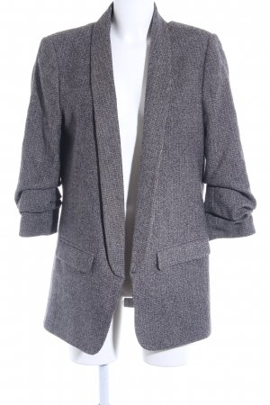 Zara Long-Blazer Karomuster Casual-Look