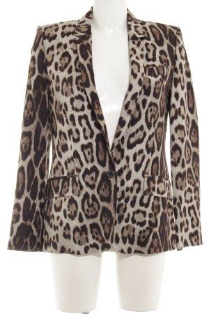 Zara Long-Blazer Leomuster Animal-Look