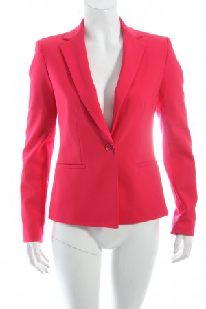 Zara Long-Blazer magenta Business-Look