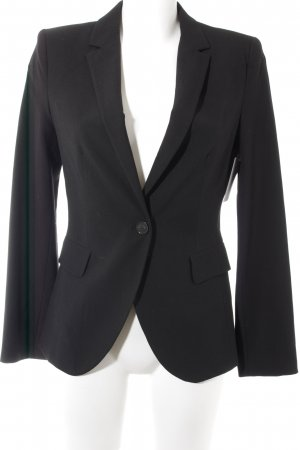 Zara Blazer long noir style d'affaires