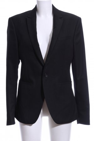 Zara Long-Blazer schwarz Casual-Look