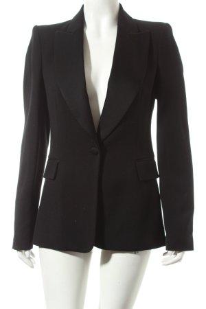 Zara Long-Blazer schwarz Eleganz-Look