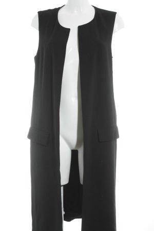 Zara Long-Blazer schwarz schlichter Stil