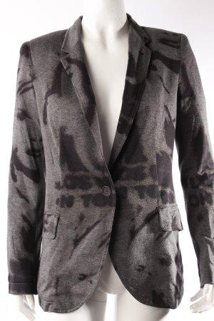 Zara Longblazer schwarz-grau