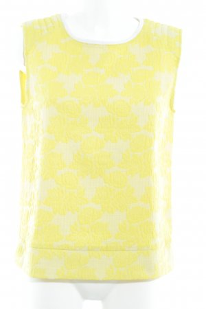 Zara Long Cardigan yellow-primrose flower pattern extravagant style