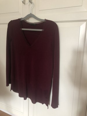 Zara Long Shirt bordeaux