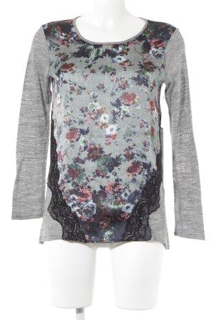 Zara Longshirt florales Muster Casual-Look