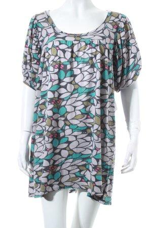 Zara Longshirt florales Muster Hippie-Look