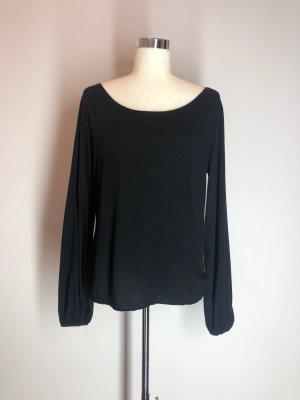Zara Manga larga negro
