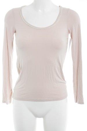 Zara Top à manches longues rosé style décontracté
