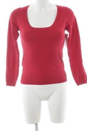 Zara Manica lunga rosso Tessuto misto