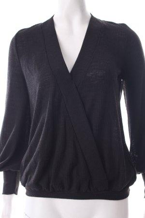 Zara Longsleeve schwarz schlichter Stil