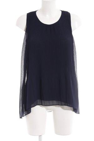 Zara Top lungo blu scuro stile casual
