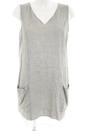 Zara Top lungo grigio chiaro stile casual