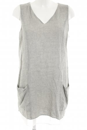 Zara Long Top light grey casual look