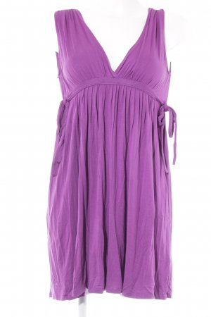 Zara Longtop violett Beach-Look