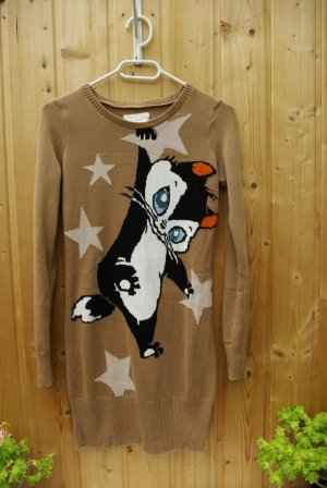 Zara Looney Tunes long Pullover Longsleeve Original Baumwolle Cotton