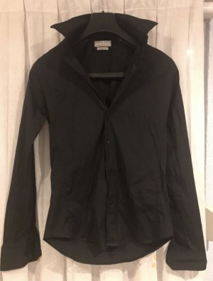 Zara Camisa de manga larga negro
