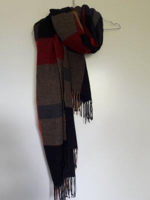 Zara Écharpe à franges multicolore
