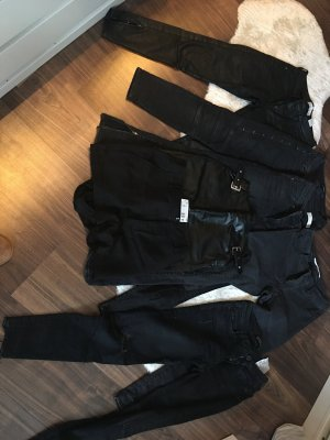 Zara/Mango/H&M skinny Jeans, 1 Rock und 1 Shorts