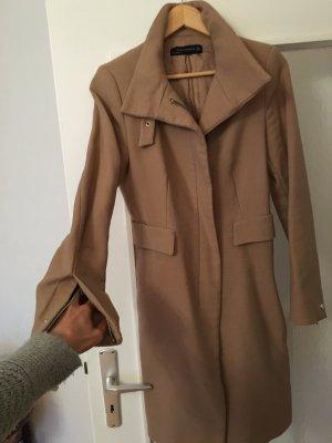 Zara Mantel 100% Wolle M in Beige super stylisch