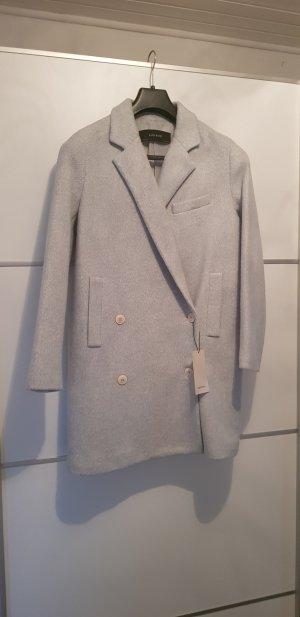 Zara Abrigo azul claro