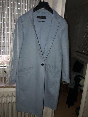 Zara Veste longue bleu azur