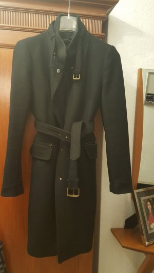 Zara Woman Manteau d'hiver noir