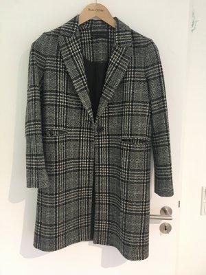 Zara Woman Wool Coat multicolored