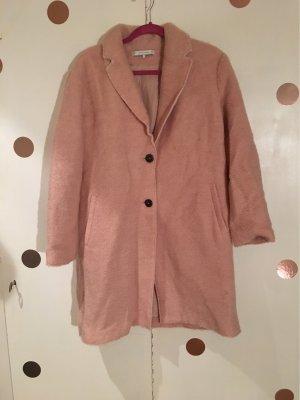bester Lieferant attraktive Mode niedrigster Rabatt ZARA Mantel aus Wolla Rosa gr L